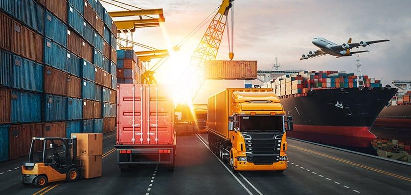 Mezzi impiegati nella movimentazione e nel trasporto di merci